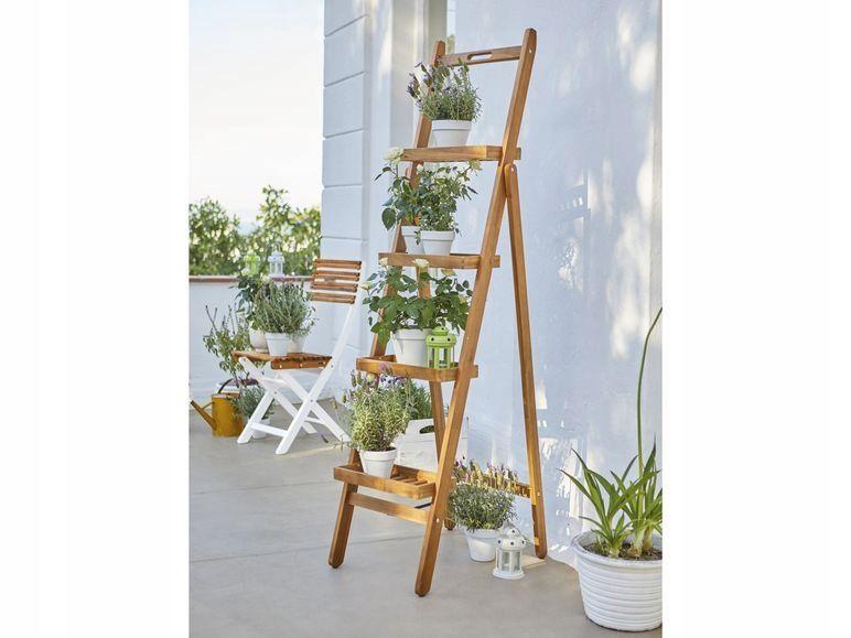 Regal Drabinka Stojak Na Kwiaty Skladany 170cm 8103665889 Oficjalne Archiwum Allegro Home Decor Home And Garden Decor
