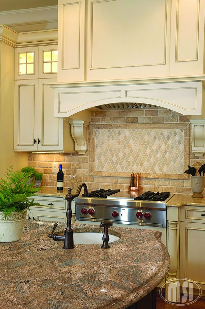 I Love Backsplash And Granite Combo Would Require A Diffe Type Of Hood Than Is Planned