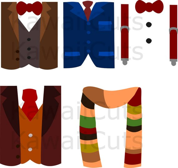 Bow tie fancy. Shirts set svg cut