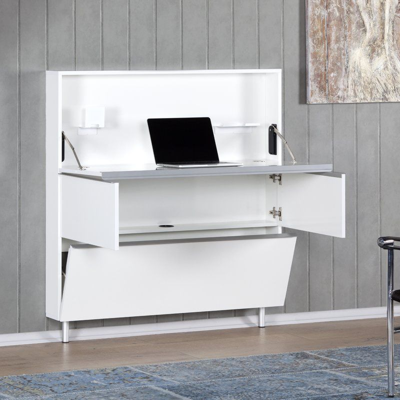 Oasis Secretary Desk Bedroom desk, Floating desk, Space