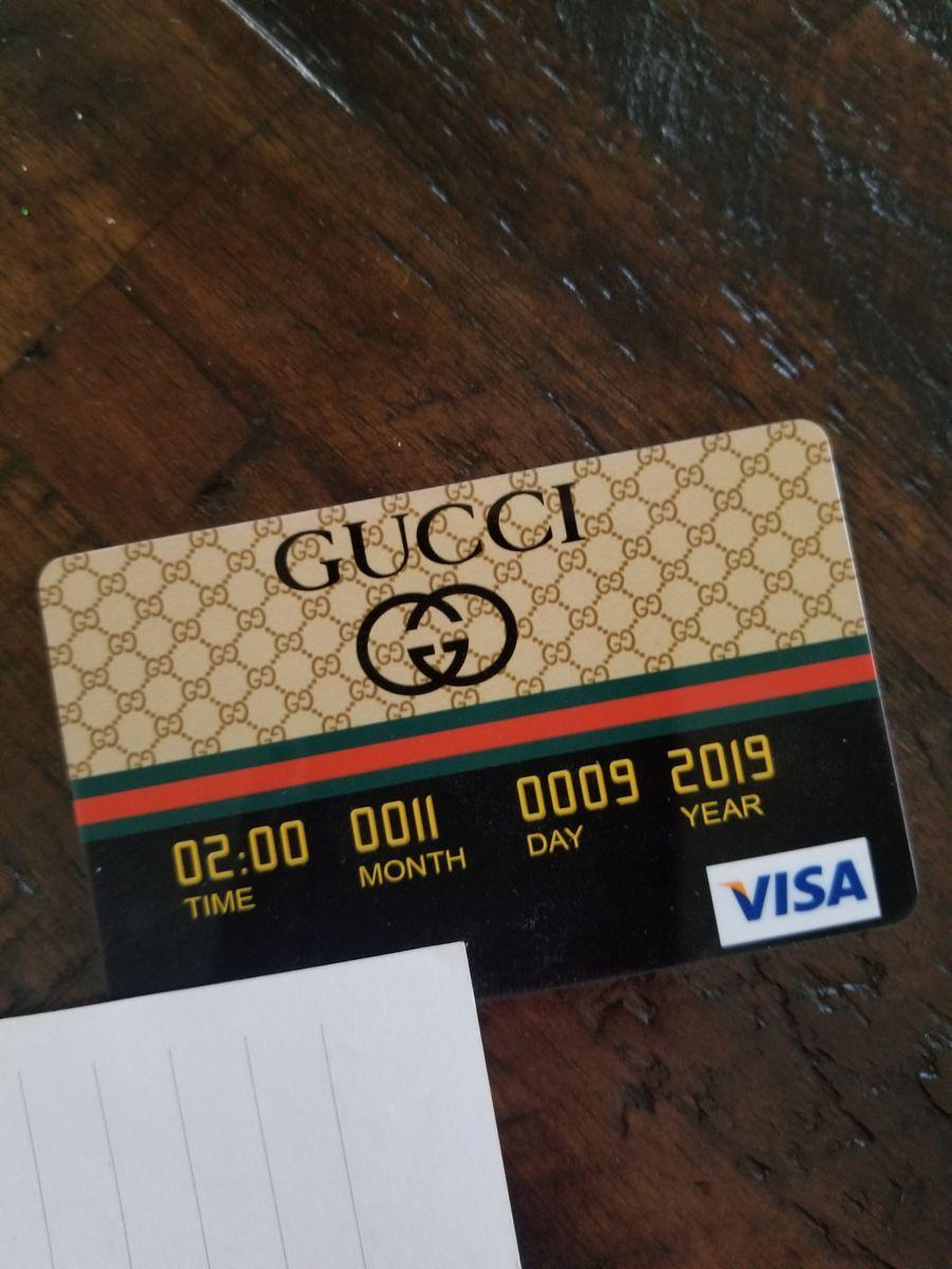 Gucci credit card invitations gucci birthday gucci party