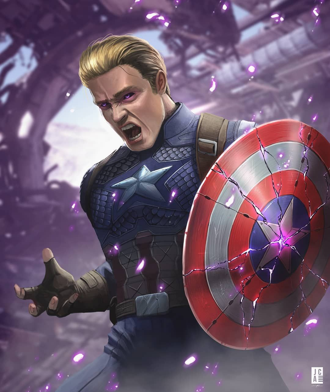 new captain america avengers 4 concept art. i think it would be the