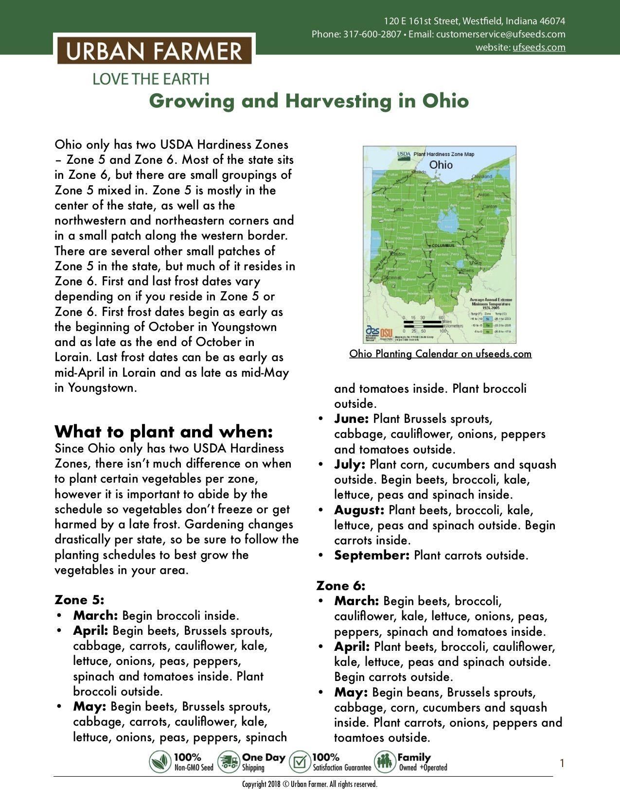 Ohio Vegetable Planting Calendar Planting Calendar Vegetable Planting Calendar Planting Vegetables