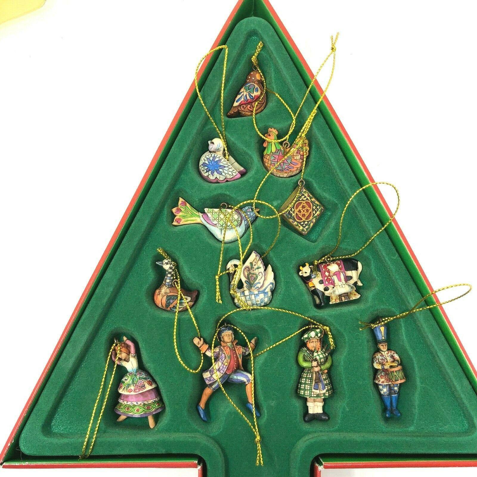 Details about Jim Shore - 2006 Twelve 12 Days of Christmas ...