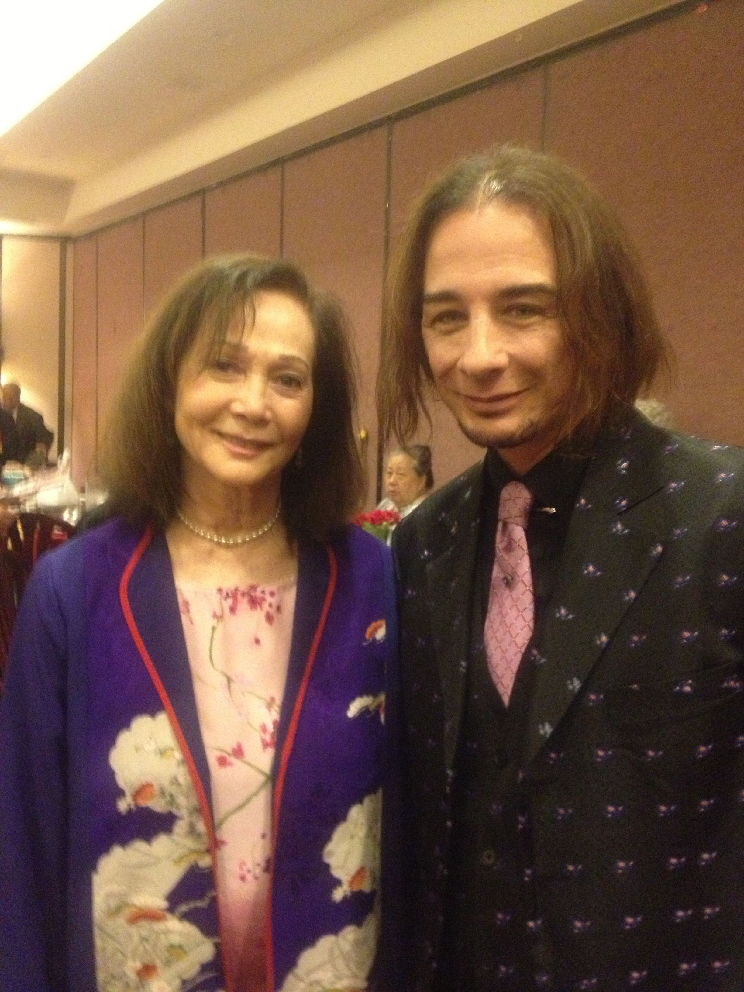 Bad Hair day!!!This is the famous Actress Nancy Kwan who