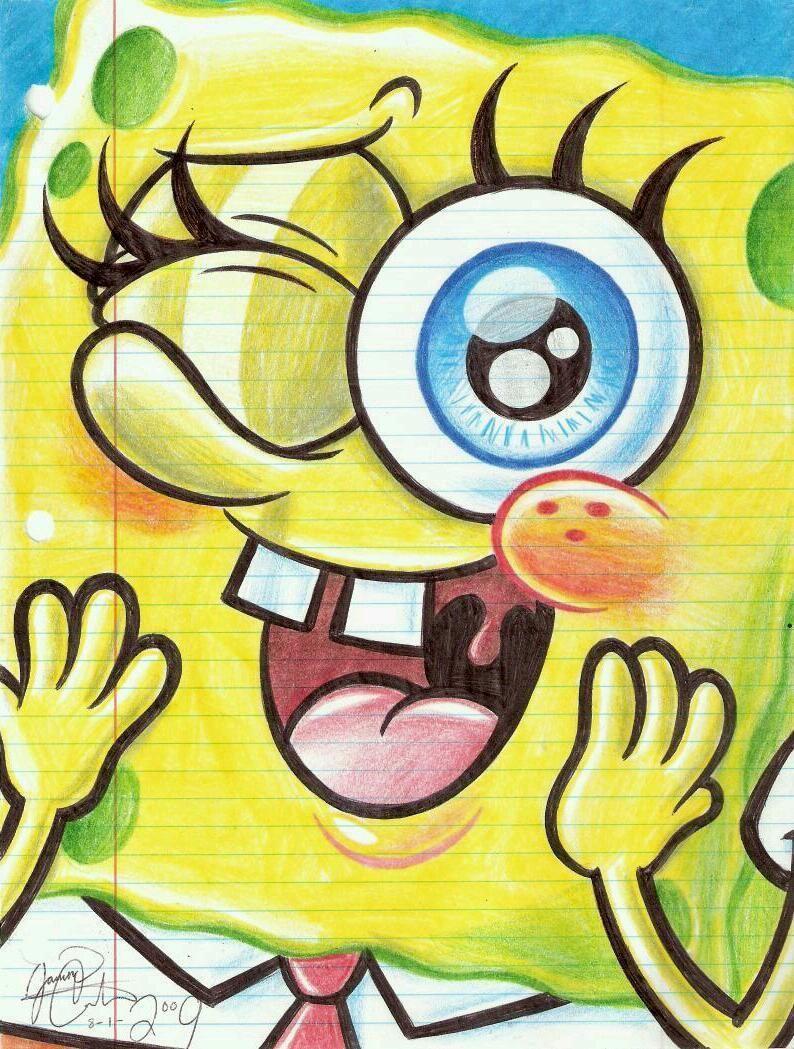Sponge Bob Mikyajy Mikyajy Makeup Makeup Spongebob Drawings Spongebob Wallpaper Spongebob