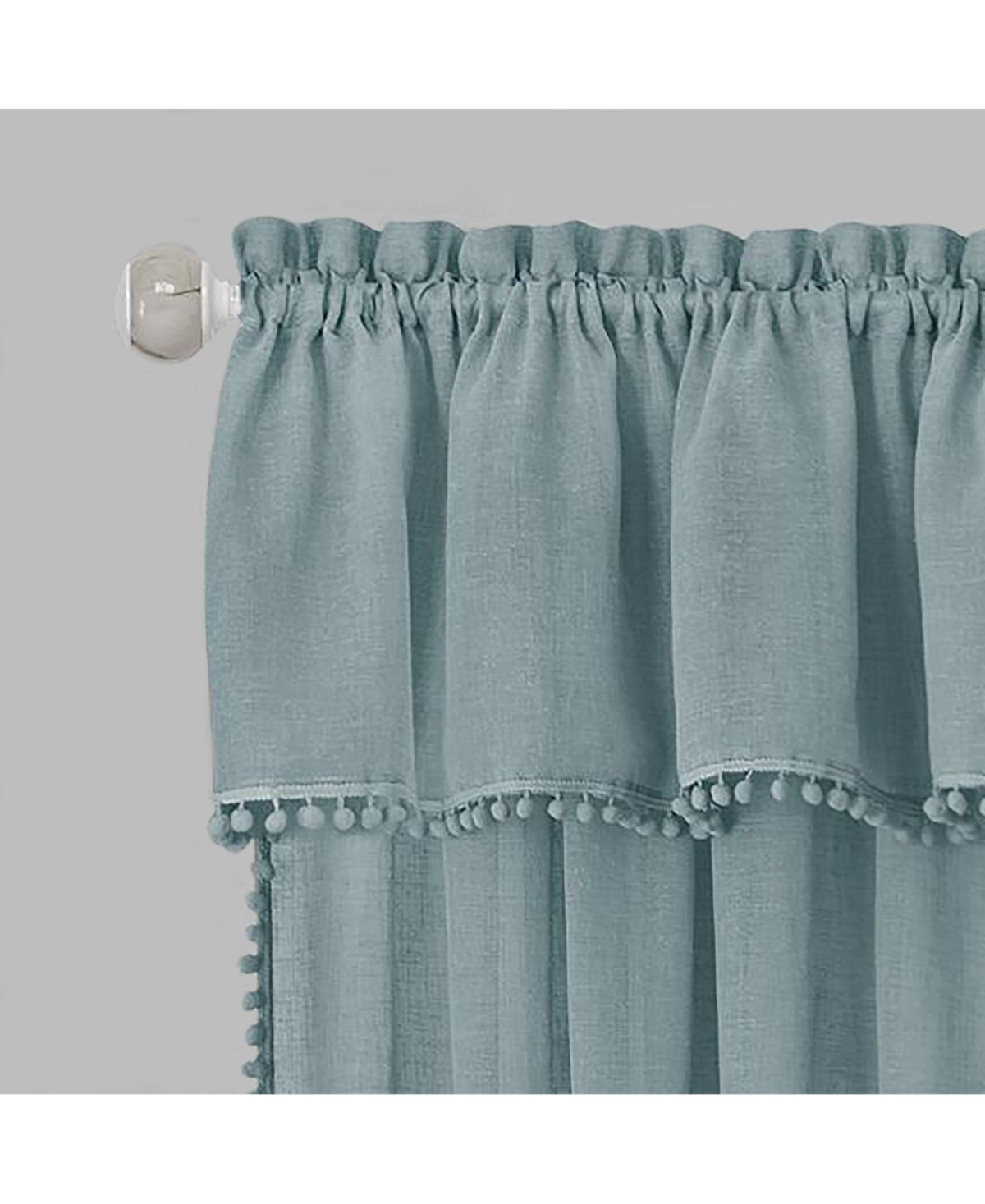 Achim Wallace Curtain Tier And Valance Set 58x24 Reviews