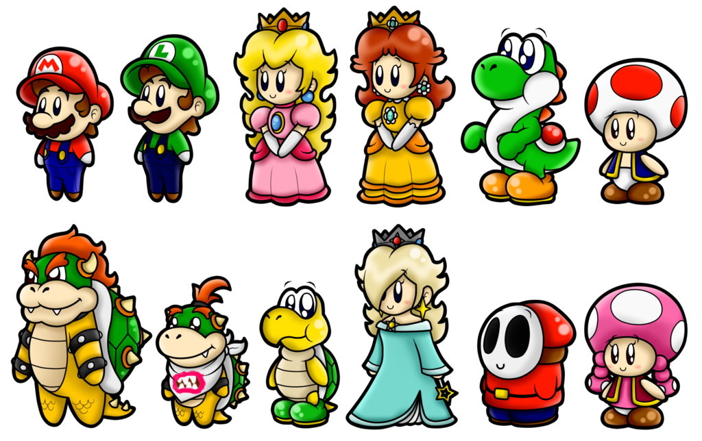 Super Mario Fruits By Superlakitu On Deviantart Super Mario Bros
