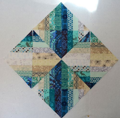 Today I am going to show you how to make the Blended Scraps Blocks that I used to make Reflection. These...