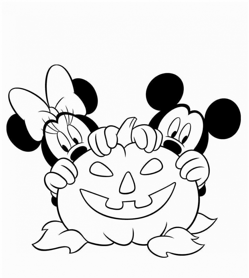 Coloriages Magiques: coloriage halloween disney  Herbst