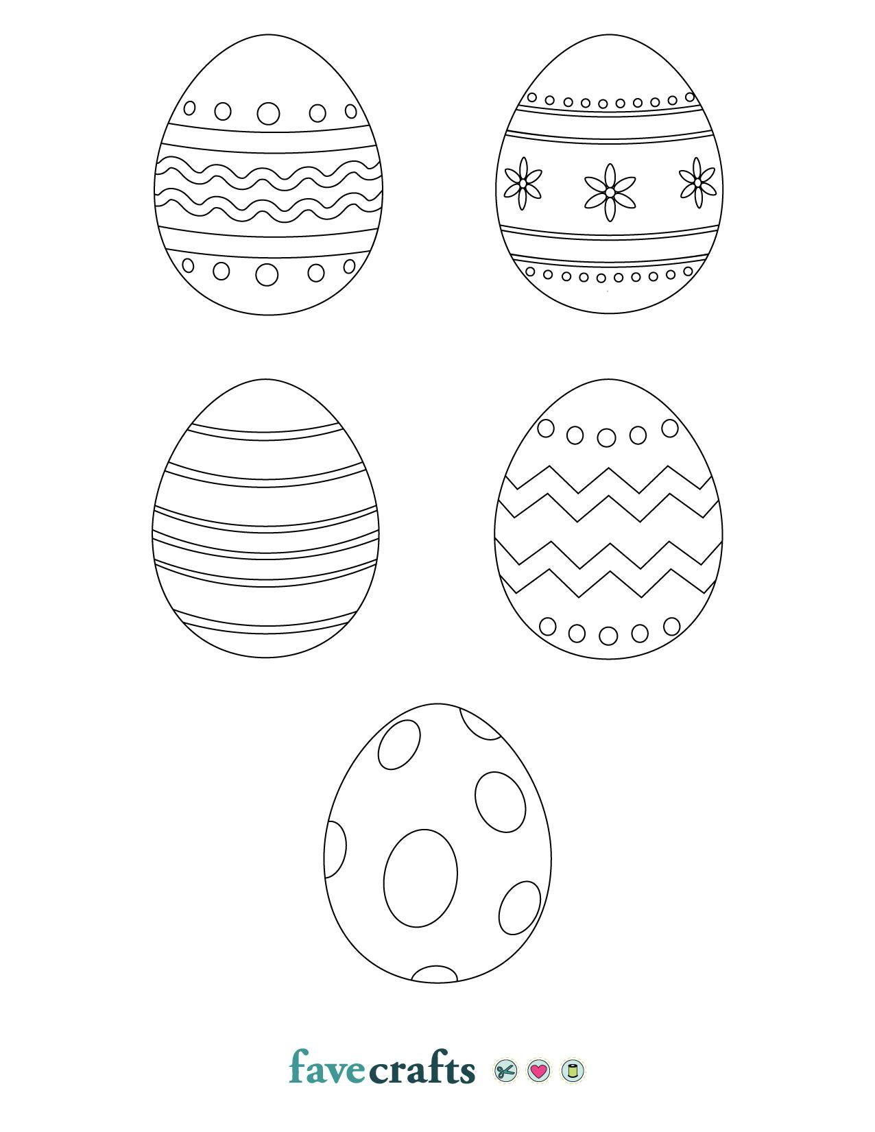 Printable Easter Eggs Free Download Easter Printables Free Easter Egg Coloring Pages Easter Egg Diy Kids