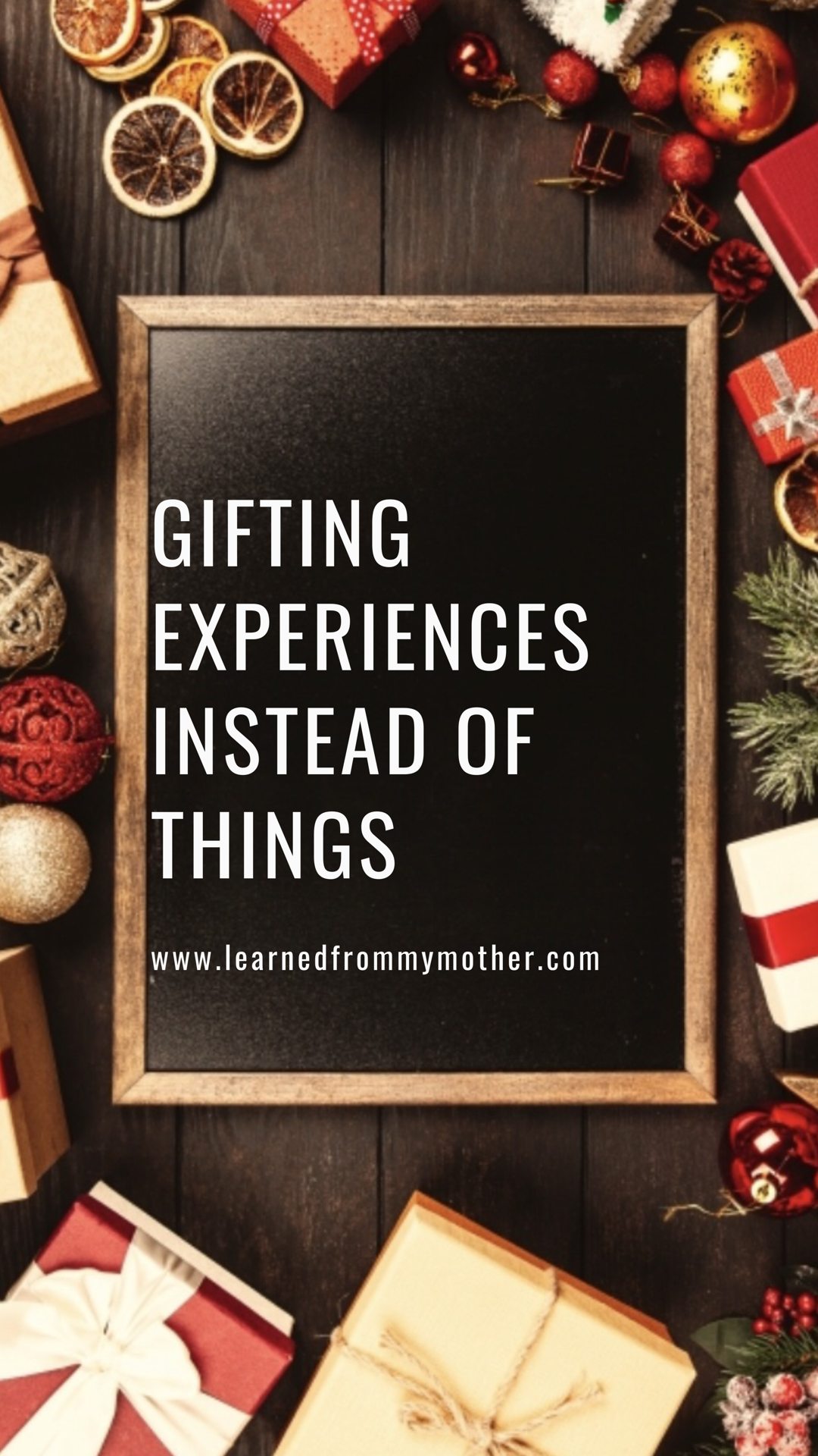 Minimalism Is All The Rage These Days So This Year Focus On Gifting Experiences Instead Of Thi Experience Gifts Minimal Christmas Gifts Christmas Experiences