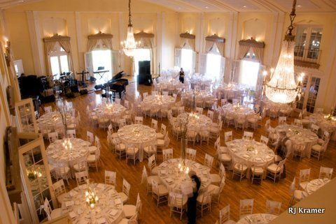 View Of The Ballroom From Balcony At Lafayette Club