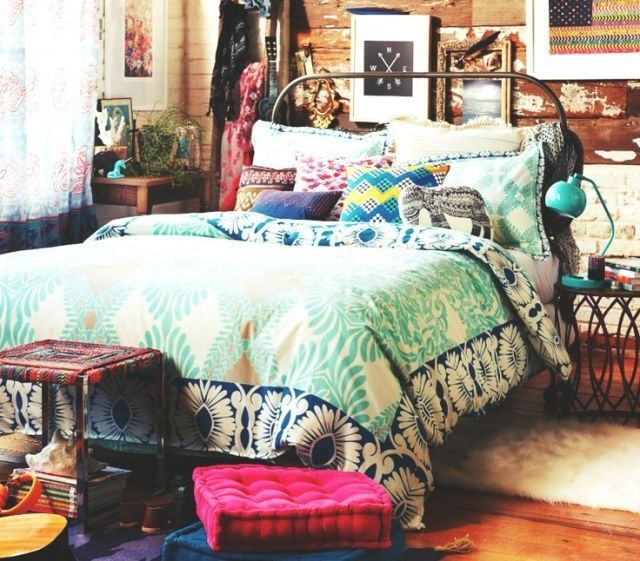 Eclectic cabin Bedroom Pinterest Cabin, Bedrooms and Soft