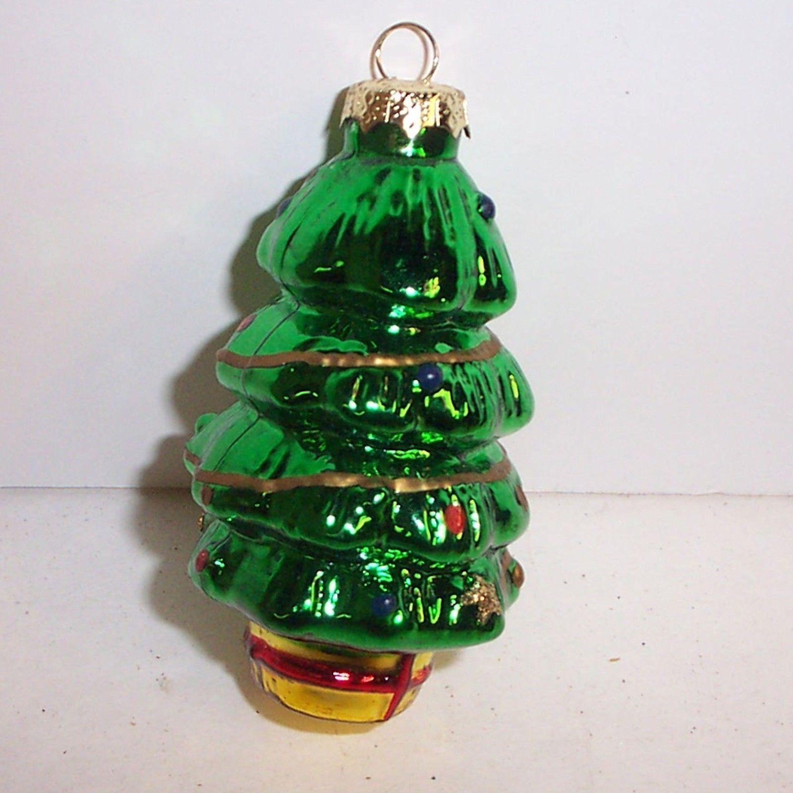On sale! Very nice vintage Christmas Tree German Glass