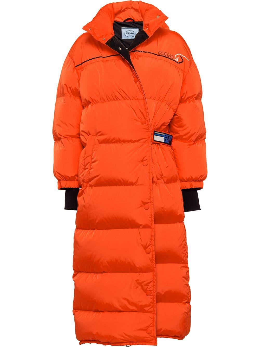 Prada Puffer Coat Farfetch Puffer Coat Down Puffer Coat Puffer [ 1334 x 1000 Pixel ]