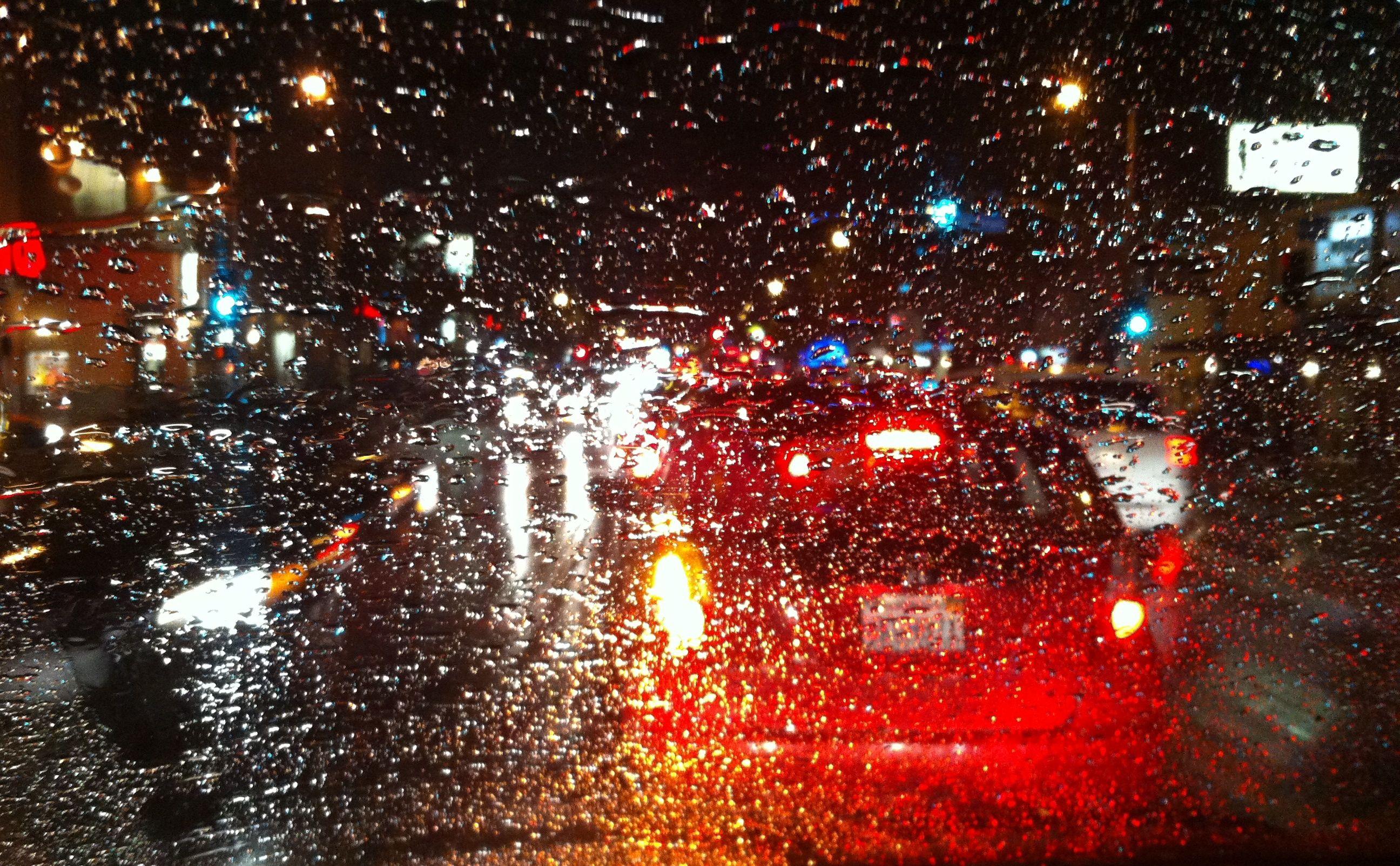Rain, Sherman Oaks 2013