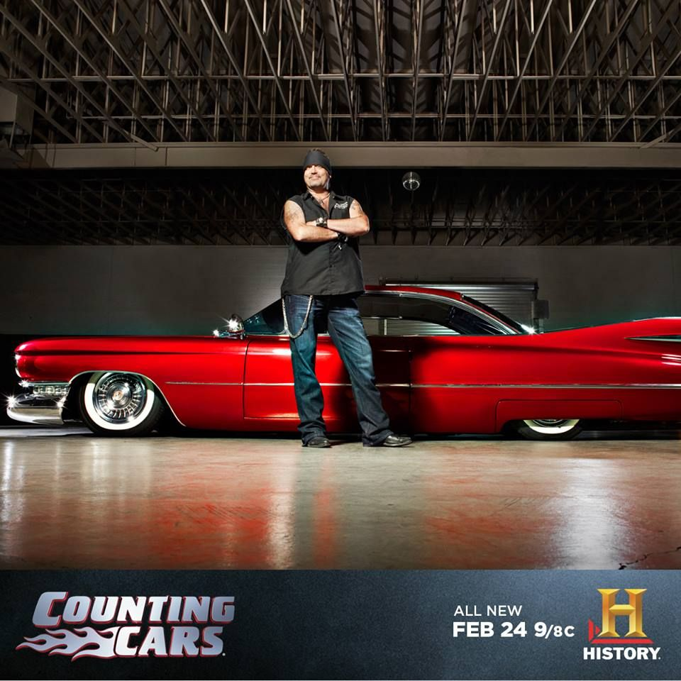 """Danny """"The Count"""" Koker Of Count's Kustoms. Counting Cars"""