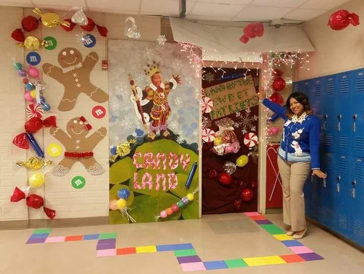 50 Innovative Classroom Door Christmas Decoration Ideas For