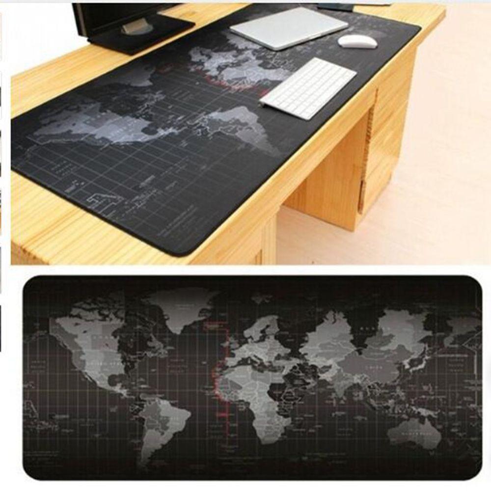 World map xl computer gaming gamer mat desks mouse keyboards office world map xl computer gaming gamer mat desks mouse keyboards office non slip pad leshp gumiabroncs Gallery
