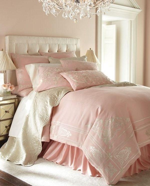 Charmingpinkpastelbedroomideas Bedroom Pinterest Pastel - Light pink and cream bedroom