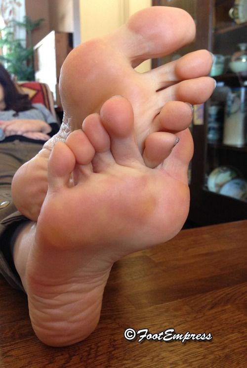 Sexy toe foot and sole