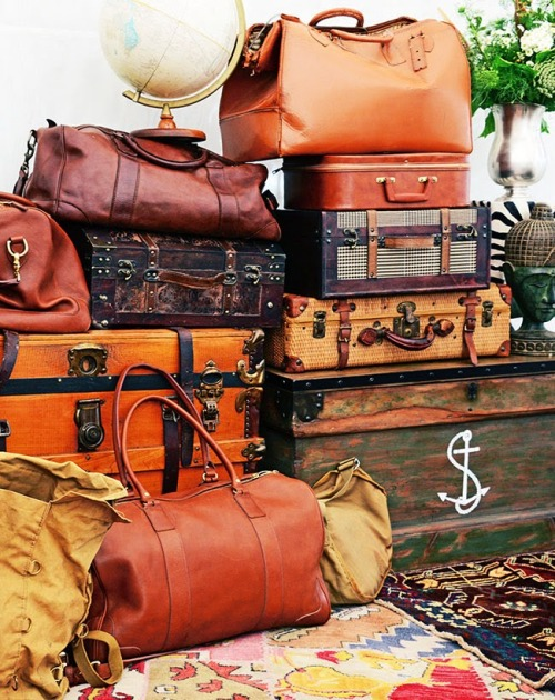 Vintagehome |tumblr ~ Luggage Packed Photo FDIC.FR ☺ ✿. ☺