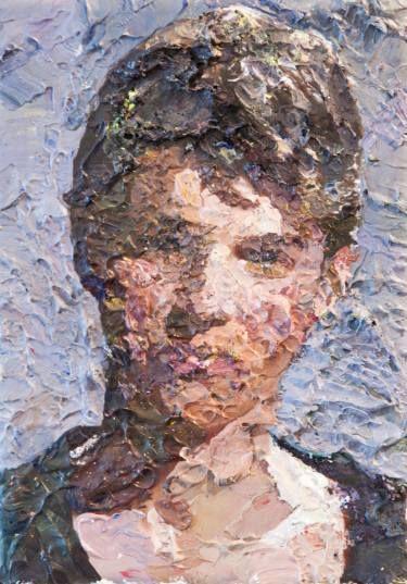"Saatchi Art Artist Rachel Sharp; Painting, ""Tanja Series (6)"" #art"