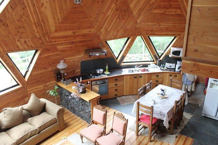 Interior domo buscar con google domos en 2019 casas - Casas geodesicas ...