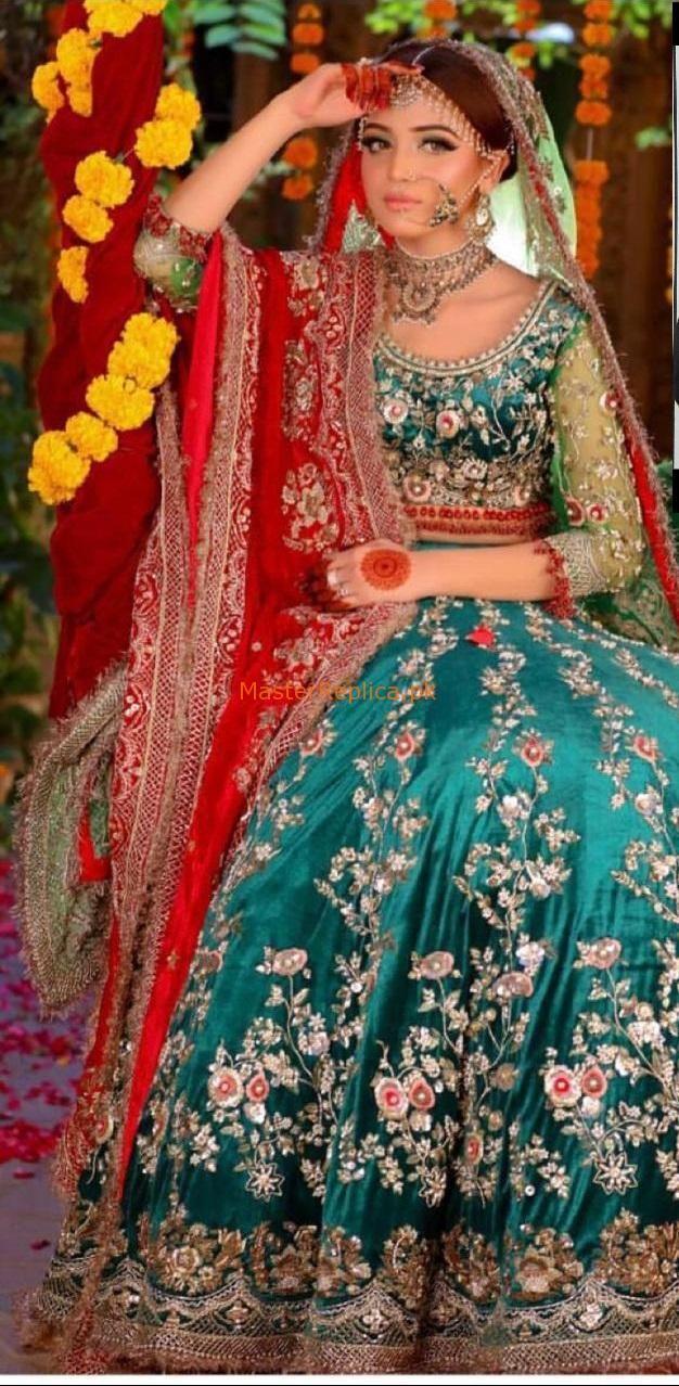 KASHEE'S Net Bridal Master Replica 2019 Pakistani dress