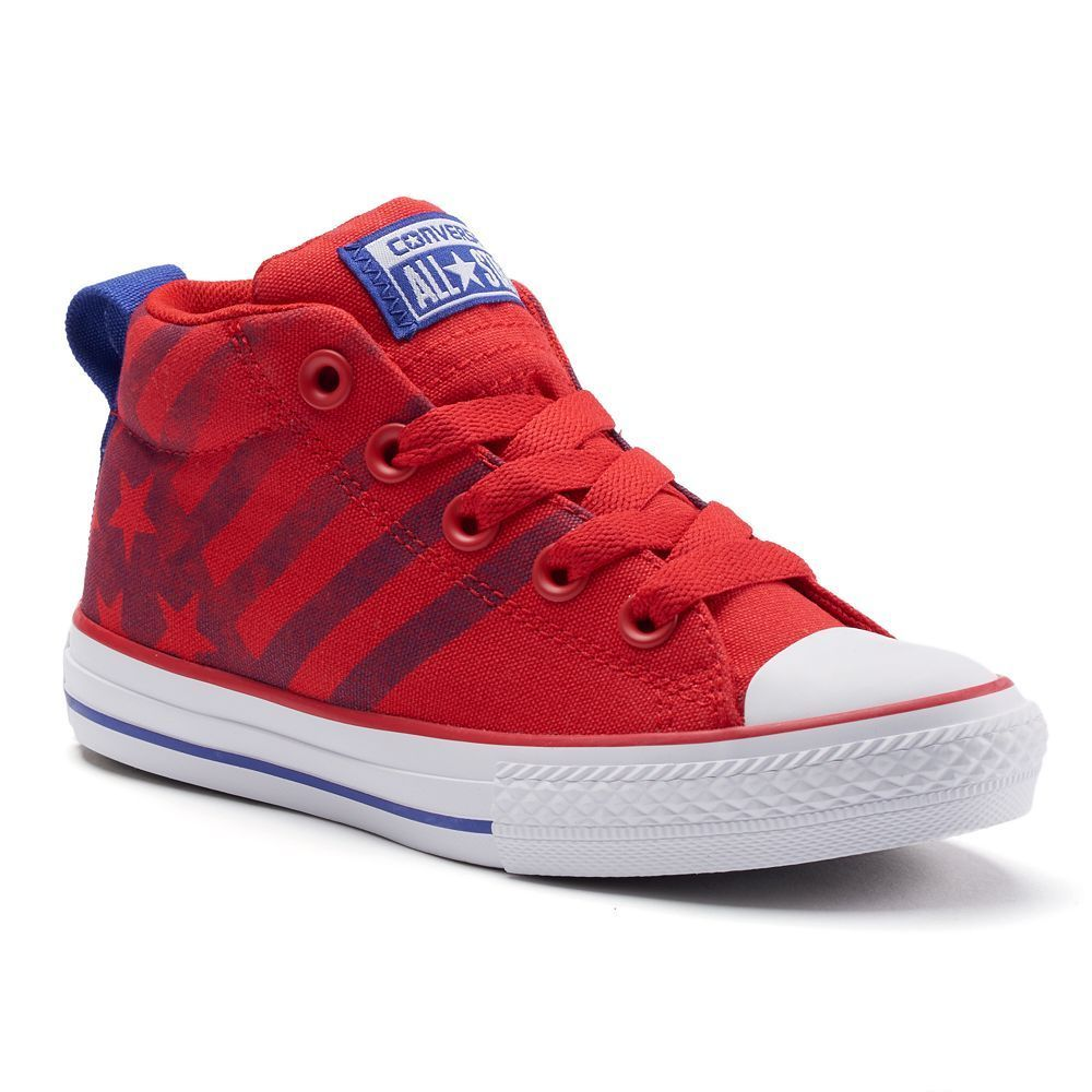 ee73bb8fdf56a3 Kid s Converse Chuck Taylor All Star Street Mid Shoes