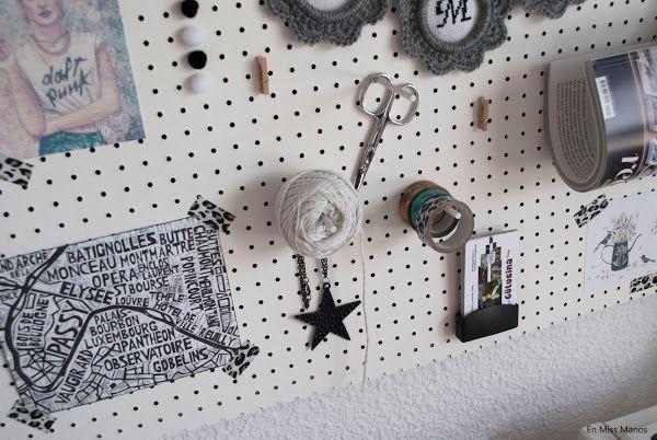 DIY Moodboard / Organizador | Hacer bricolaje es facilisimo.com