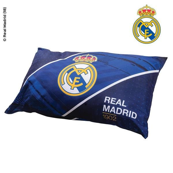 Cojin Edredon Real Madrid.Almohada Rellena Real Madrid Almohadas Real Madrid Relleno Und