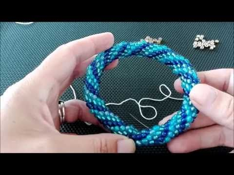 Haken Met 3mm Kralen Youtube Armbanden Haken Youtube En Bead