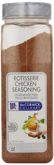 Mccormick Rotisserie Chicken Seasoning, 24-Ounce