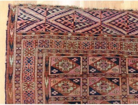 Turkoman Oriental Rug 3 1 X 4 10 Antique Bokhara Rugs Oriental Rug Turkoman