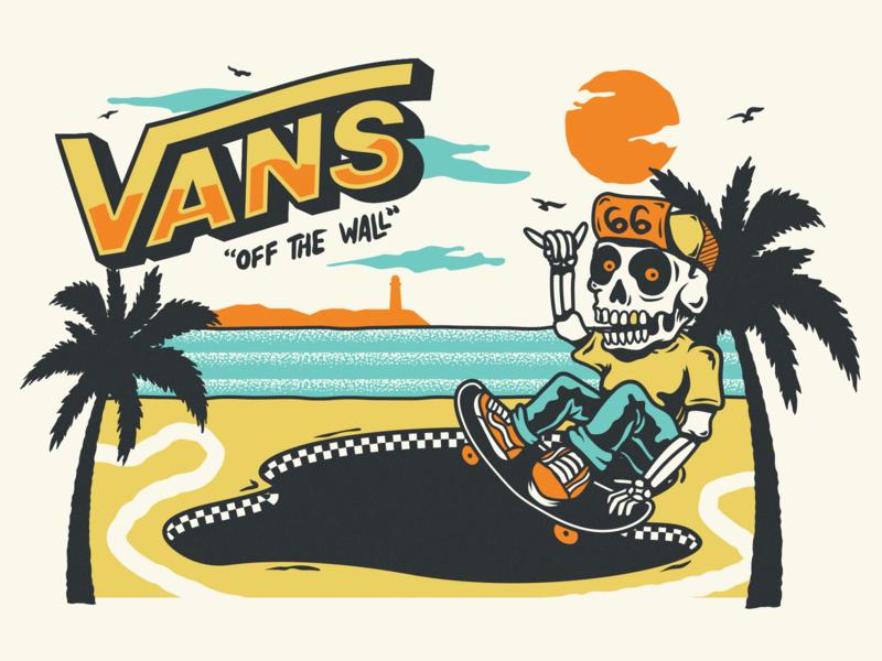 Vans Off the Wall | Vans off the wall, Van drawing, Skateboard ...