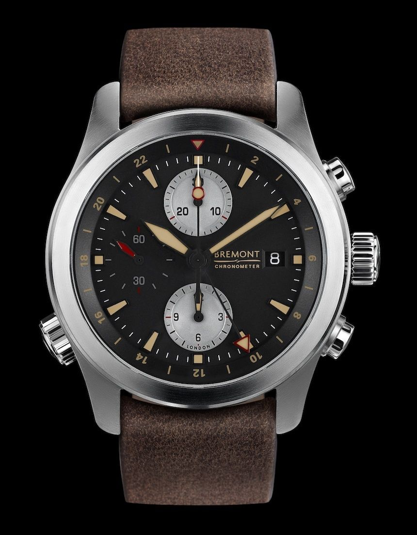 81232e275c4 Bremont ALT1-ZT 51 GMT Chronograph Watch - by James Stacey - just  announced