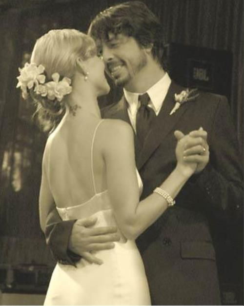 dave grohl wedding pictures