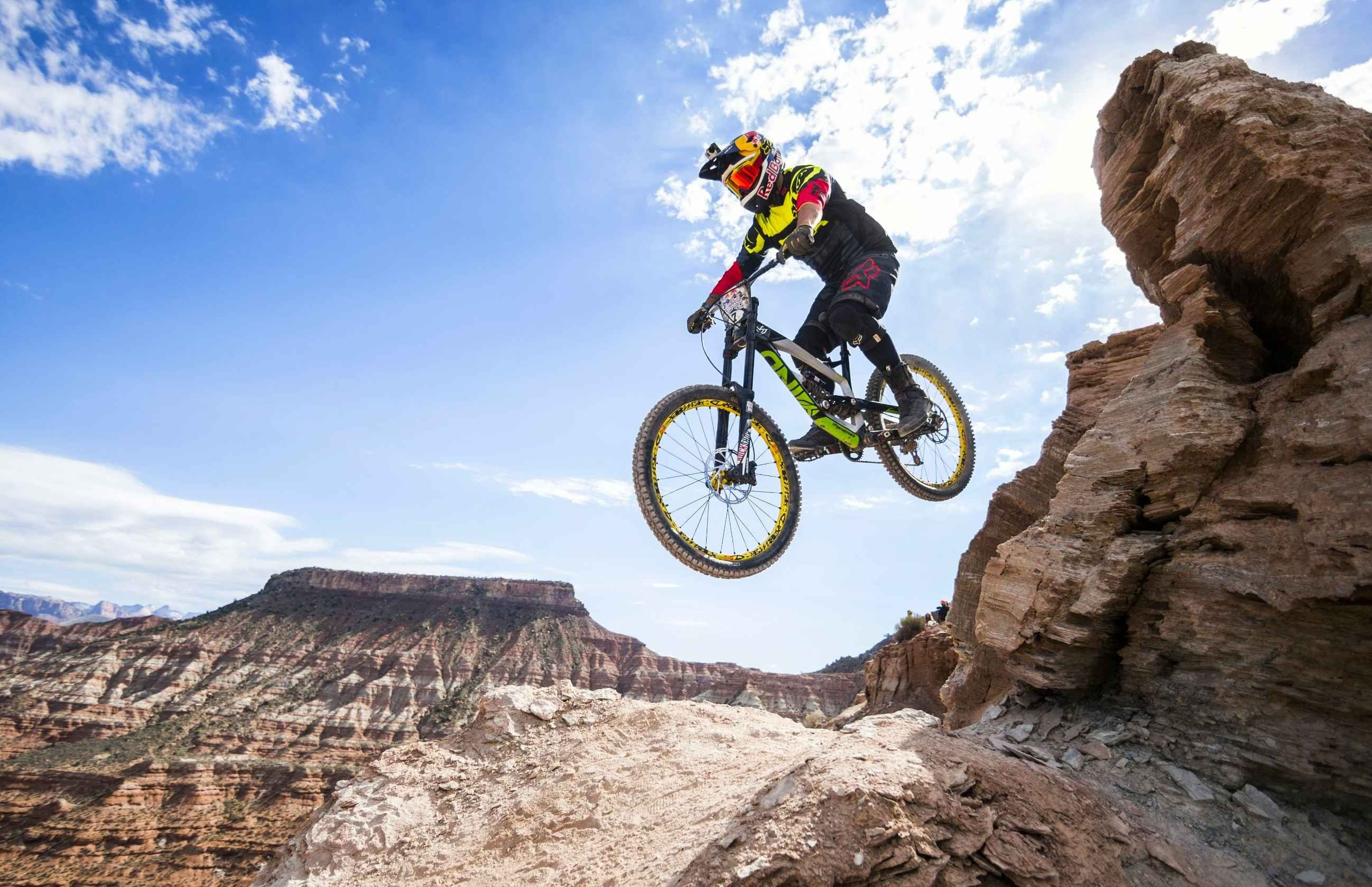 Red Bull Mountain Bike >> Top Freeride Mtb Highlights From Red Bull Rampage 2014