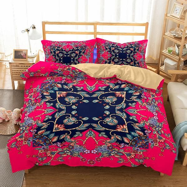 Bedroom Art Supplies: Bedroom Home Supplies Bohemian Theme Print Set 3 Piece