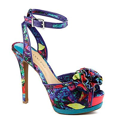 Gianni Bini Milah Ruffle Dress Sandals #Dillards  I just got these at Dillard's and I LOVE them!!!!!