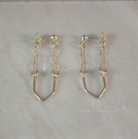 Check out this item in my Etsy shop https://www.etsy.com/listing/248486353/sterling-silver-arrow-drop-earrings