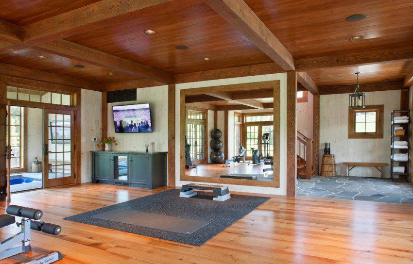 Rill Architects Bring You This Great Home Gym Design