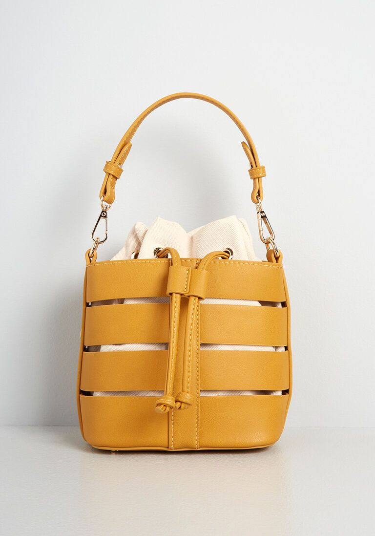 Hollow the Leader Bucket Bag