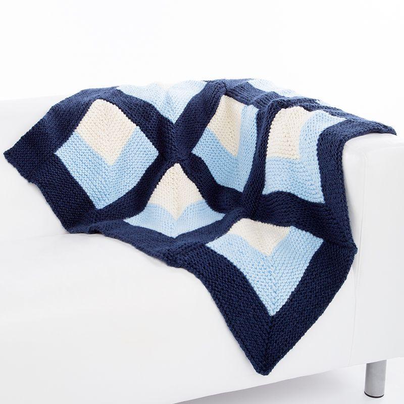 Stitch Studio™ By Nicole Belle Op Art Throw & Pillow