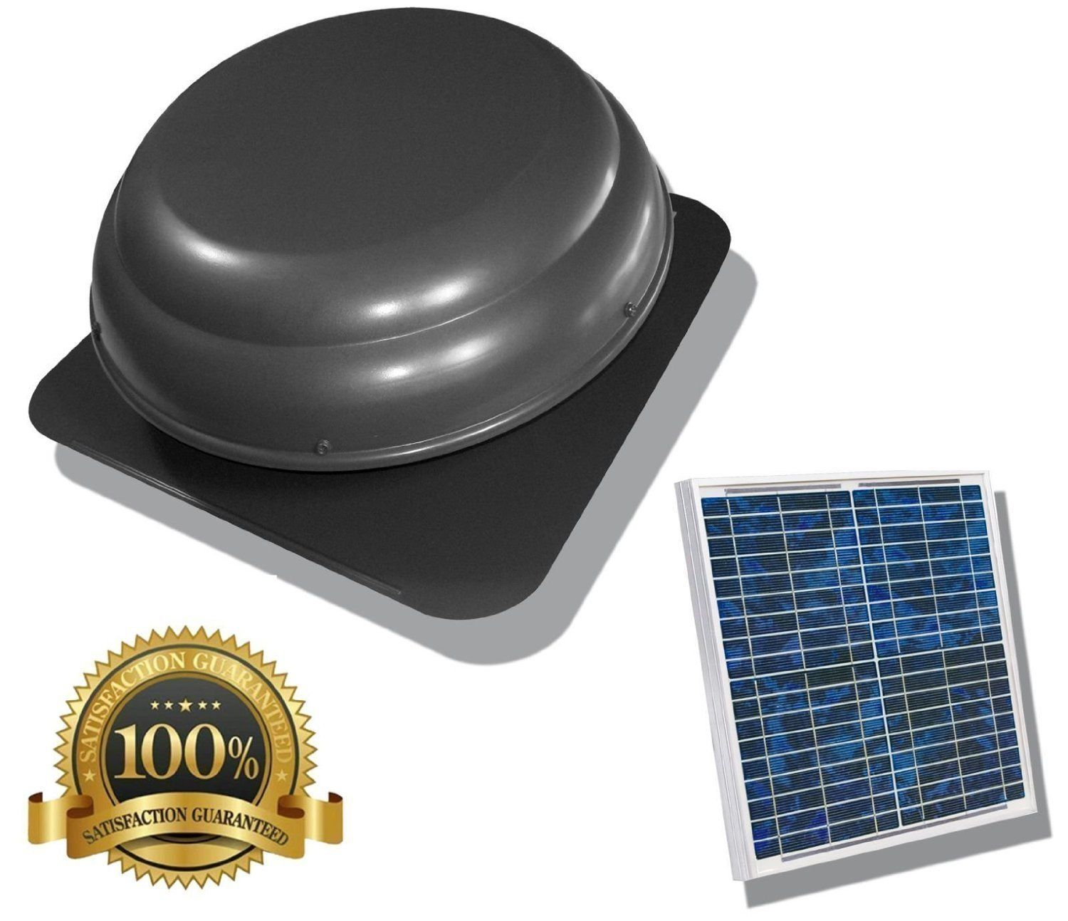 Premium Solar Attic Fan Ultra Efficient Brushless Dc Motor Rust Protective Material You Can Solar Attic Fan Solar Powered Attic Fan Solar Panels For Home
