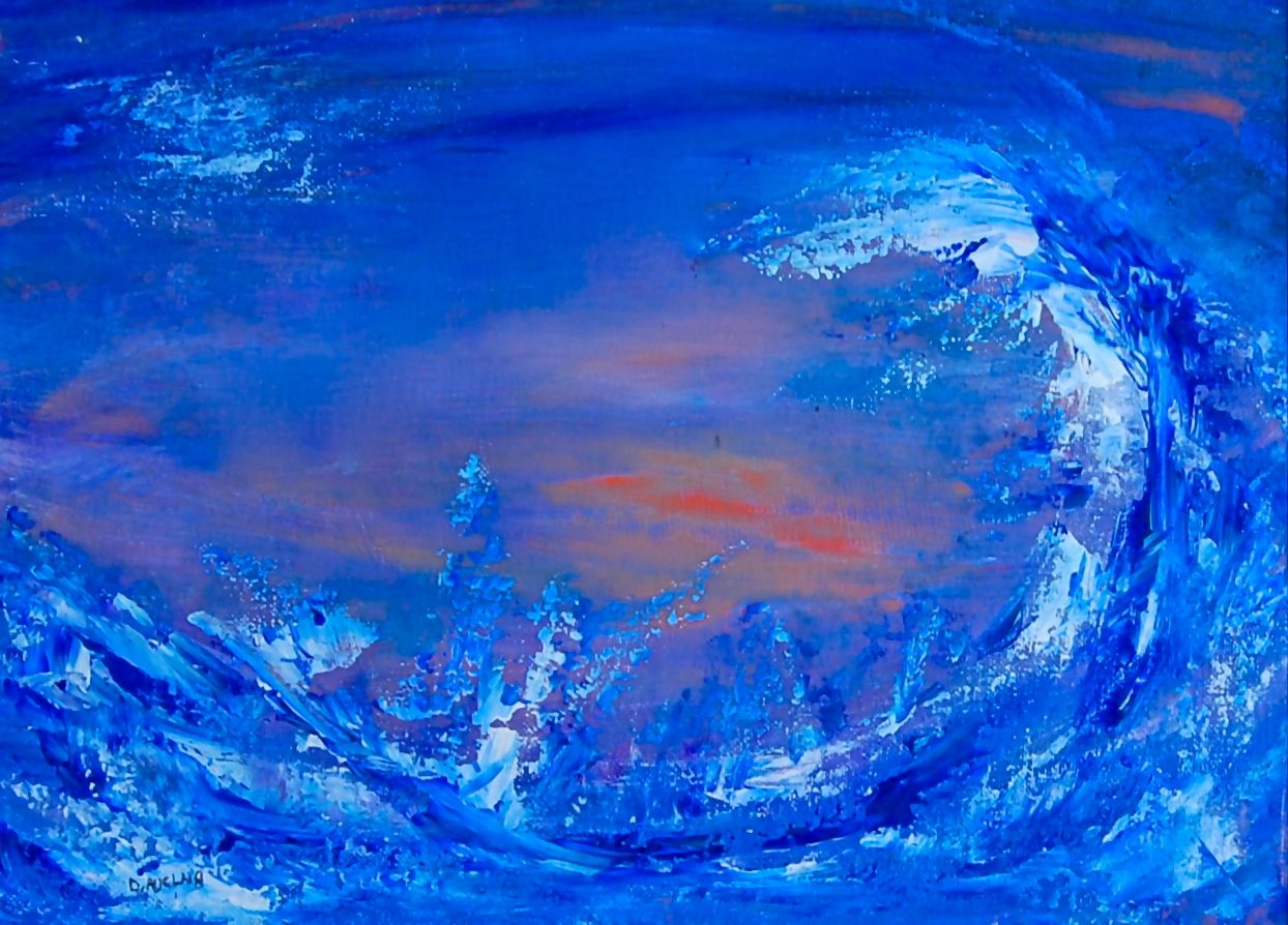 Abstract Art - The Big Wave