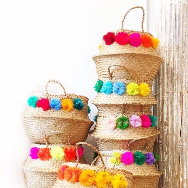 Eliza Gran baskets in the sksshoppe.