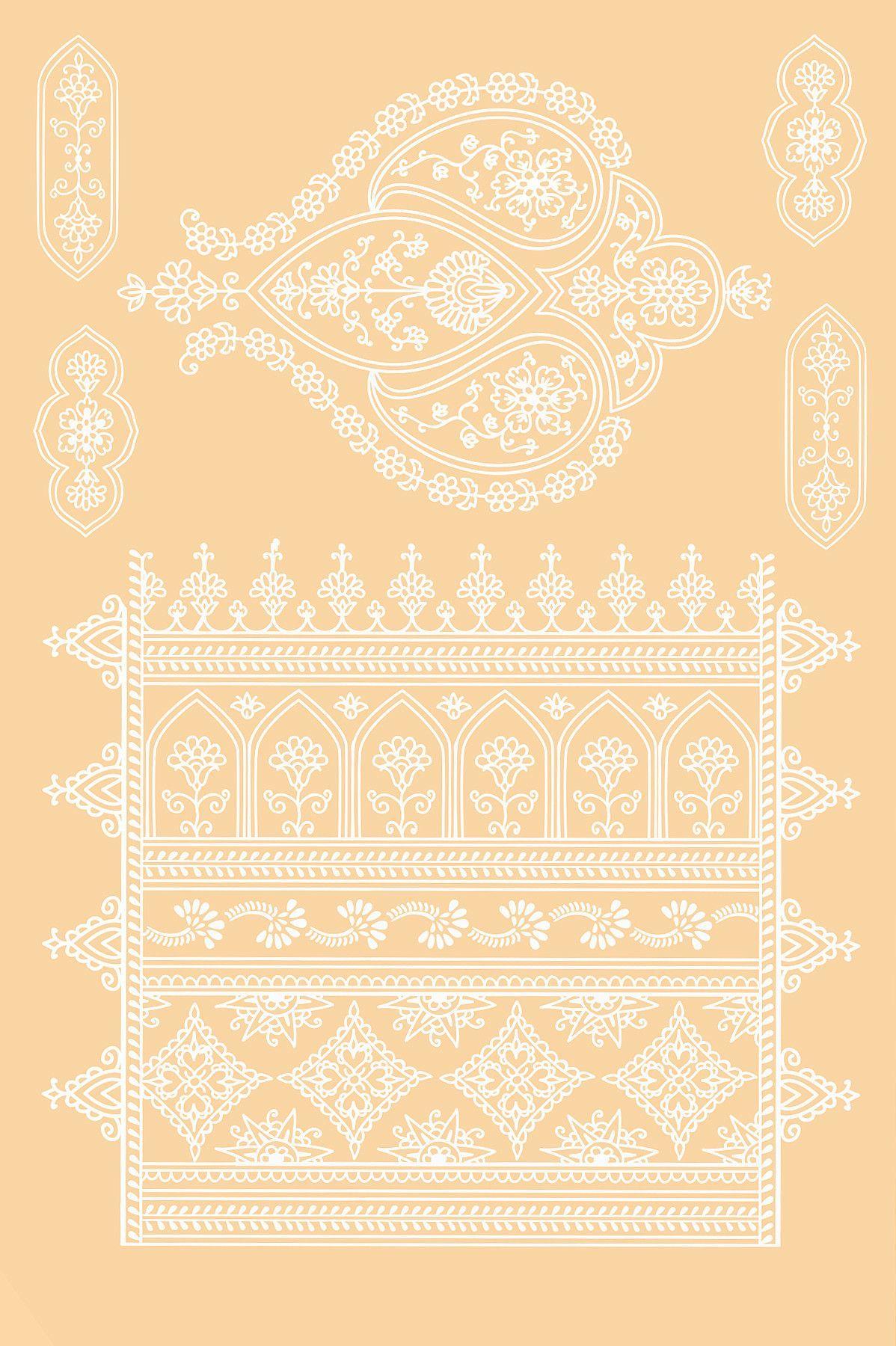 White Henna Boho Set // Set Boho Henna Blanca - Frenzy Flare